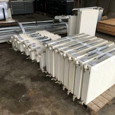 Foto van Diverse radiatoren en verwarmingen