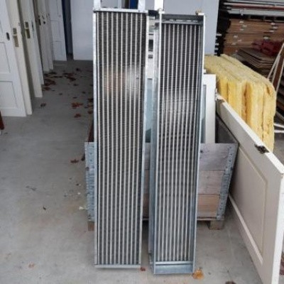Systeemplafond radiatoren