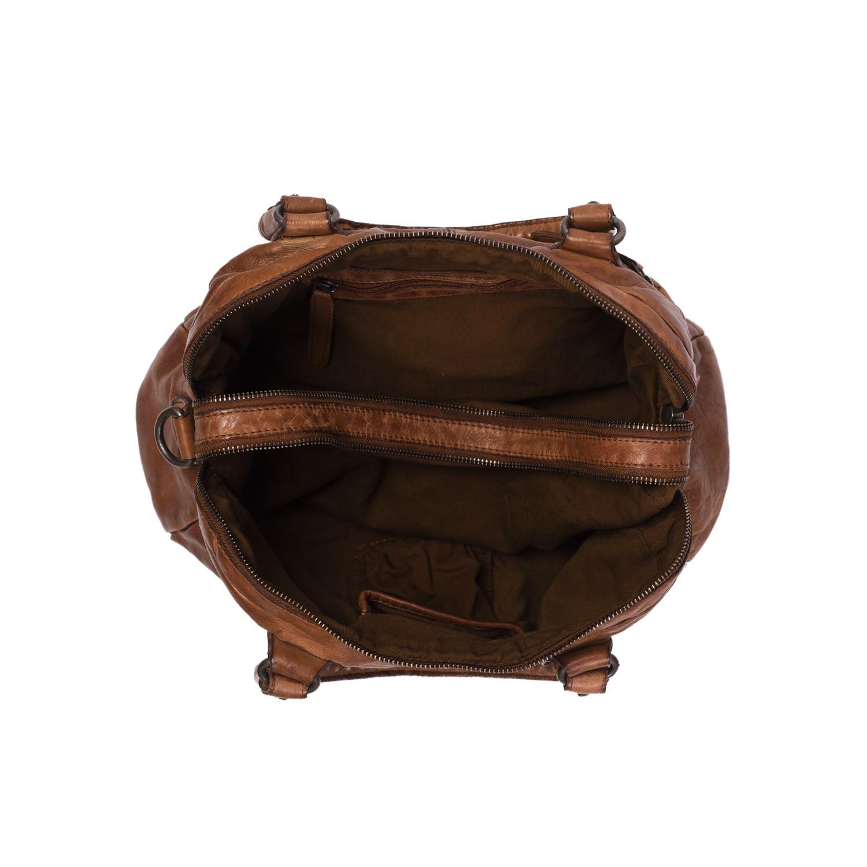 b6f770c2d312a Leder Umhängetasche Cognac Cody