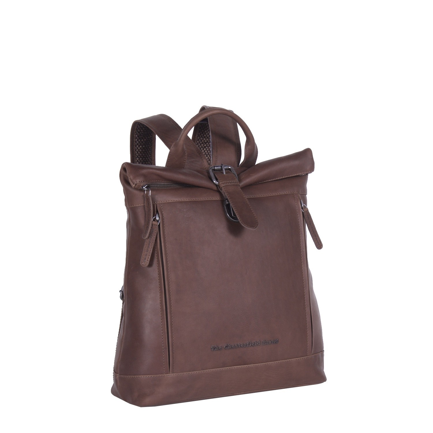 Image de Chesterfield Leather Backpack Brown Dali