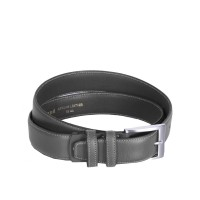 Leather Belt Elliot Grey Grey