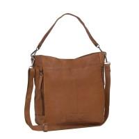 Leather Tote Bag Cognac Lina Cognac