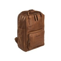 Leather Backpack Cognac Belford Cognac