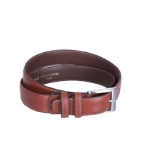 Leather Belt Elliot Brown Brown