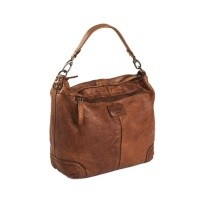 Leather Shoulder Bag Cognac Abby Cognac