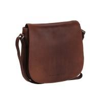 Leather Shoulder Bag Brown Yves Brown