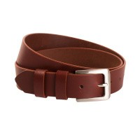 Leather Belt Cognac Vigo Cognac