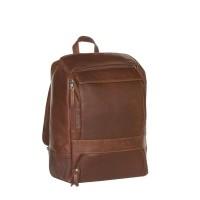 Leather Backpack Cognac Rich Cognac