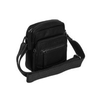Leather Shoulder Bag Black Bremen Black