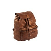 Leather Backpack Cognac Jace Cognac