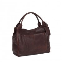 Leather Handbag Brown Cardiff Brown