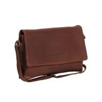 Leather Shoulder Bag Brown Elsa Brown