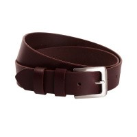 Leather Belt Brown Vigo Brown