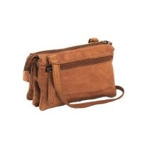 Leather Shoulder Bag Cognac Ivy Cognac