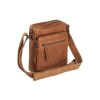 Leather Shoulder Bag Cognac Birmingham Cognac