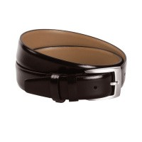 Leather Belt Brown Zayn Brown