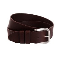 Leather Belt Brown Beck Brown