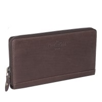 Leather Wallet Brown Nova Brown