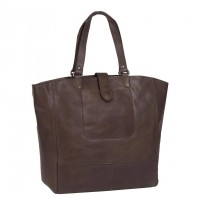 Leather Shopper Brown Jaimy Brown