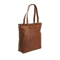 Leather Shopper Cognac Bonn Cognac