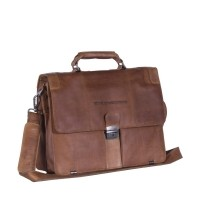 Leather Shoulder Bag Cognac Joe Cognac