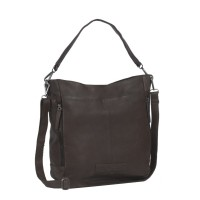 Leather Tote Bag Brown Jael Brown