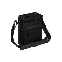 Leather Shoulder Bag Black Birmingham Black