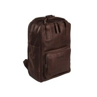 Leather Backpack Brown Belford Brown