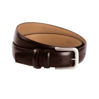 Leather Belt Brown Clark Brown