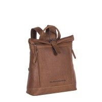 Leather Backpack Brown Dali Cognac