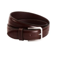 Leather Belt Brown Dash Brown