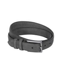 Leather Belt Levi Antracite Anthracite