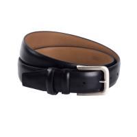 Leather Belt Navy Clark Navy