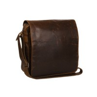 Leather Shoulder Bag Cognac Derby Cognac