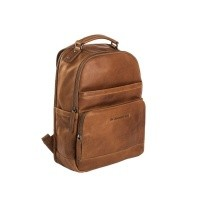 Leather Backpack Cognac Austin Cognac