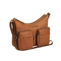 Leather Shoulder Bag Cognac Ellie Cognac