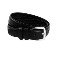 Leather Belt Black Lennon Black