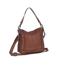 Leather Shoulder Bag Cognac Cadi Cognac