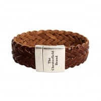 Leather Bracelet Cognac Avatar Cognac