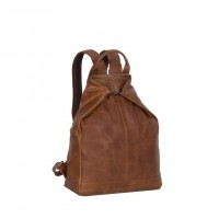 Leather Backpack Cognac Manchester Cognac