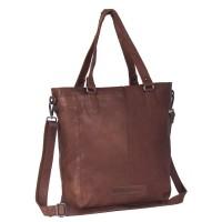 Leather Tote Bag Cognac Jade Cognac