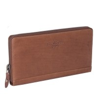 Leather Wallet Cognac Nova Cognac
