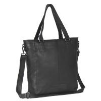 Leather Tote Bag Black Jade Black