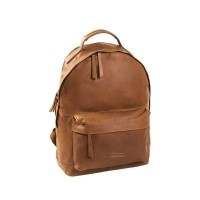 Leather Backpack T5 Cognac Thomas Hayo Cognac