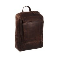 Leather Backpack Brown Rich Brown