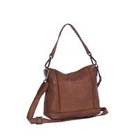 Leather Shoulder Bag Cognac Alys Cognac