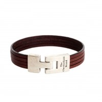 Leather Bracelet Brown Katniss Brown