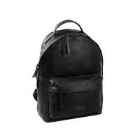 Leather Backpack T5 Black Thomas Hayo Black