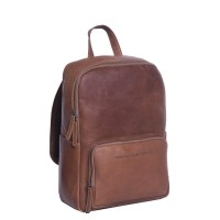 Leather Backpack Cognac Ari Cognac