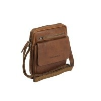 Leather Shoulder Bag Cognac Blair Cognac